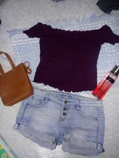 TERNO Trendy Top and Shorts