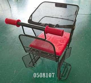 中古/二手 兒童腳踏車座椅(紅)~