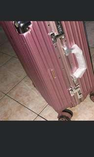 Rose Gold Luggage