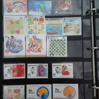 Singaore Mint Stamps Series