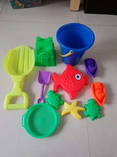 Beach Sand Toy Set, Kids