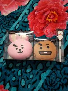 BT21 COOKY SHOOKY KEYRING