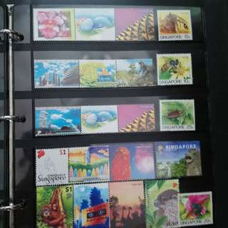 Singapore Mint Stamps Series