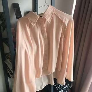 New! Batwing Top Nude