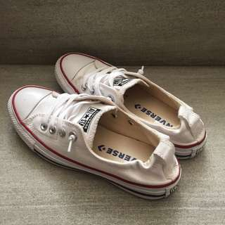 White slip on Converse 100% Original