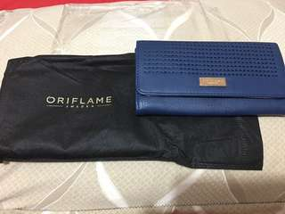 Navy wallet by oriflame