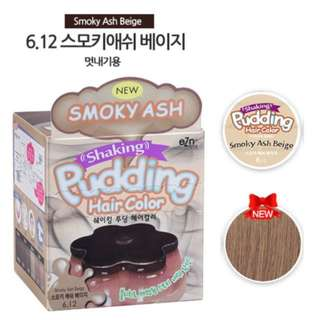 Korean eZn Shaking Pudding Hair Color Hair Dye