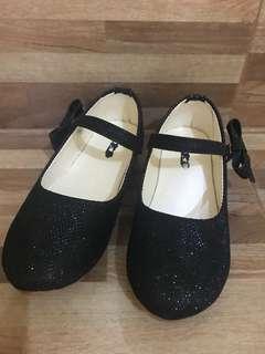 Black Glitters Shoes