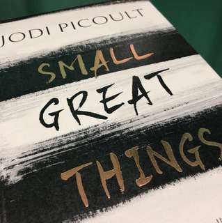 Jodi Picoult Small Great Things [Hardcover] #Easter20