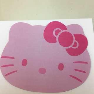 Hello Kitty Mouse Pad 滑鼠墊