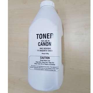 Compatible Bottle Magenta Toner for use in  Canon Copier / Printer ImageRunner Advance Colour Series