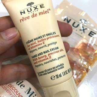 Auth💯Nuxe Hand &Nail Cream with Honey& Precious Oil (Valued at 800)