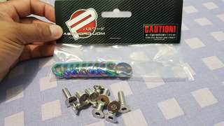 PWJDM - rainbow washer with bolts