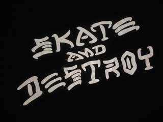 Vintage late 90s skate and destroy the long sleeve tee