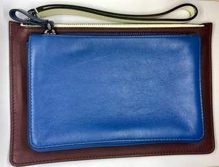 Valentino Leather Clutch