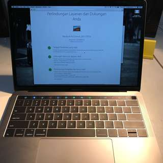 MacBook Pro Space Grey Touch Bar 2017 Free Magic Mouse