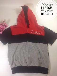 Atasan hoodie import anak AQ3030