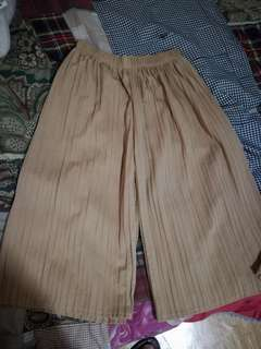Square Pants Beige