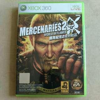Xbox 360 傭兵紀元2 熾熱戰區