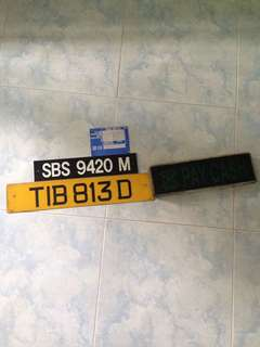 TIBs Number plate SBST-Number plate,Volvo engine plate,Pay cash