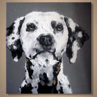 Dalmatian Oil Painting 60cm x 60cm