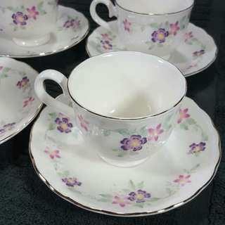 Cups and Saucers for tea and coffee