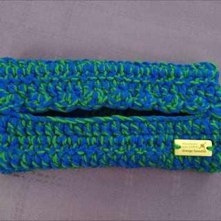 Grande Tissue Case In Dual Colours