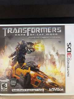 Transformer: Dark of the moon (3DS)