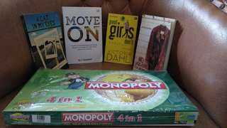 NOVEL MOTIVASI&INSPIRASI+MONOPOLI 4IN1