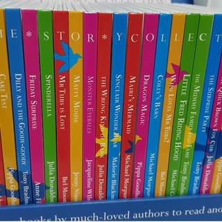 Beautifully Illustrated Collection of Children Storybooks in Box