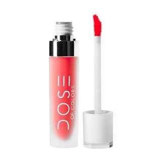 🚚 [INSTOCK] [SALE] Dose of Colors Matte Liquid Lipstick (Coral Crush)