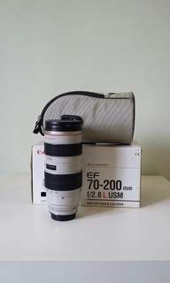 Canon ef 70-200 f2.8L (non is)