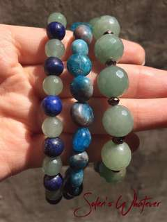Made To Order Gemstone Bracelets
