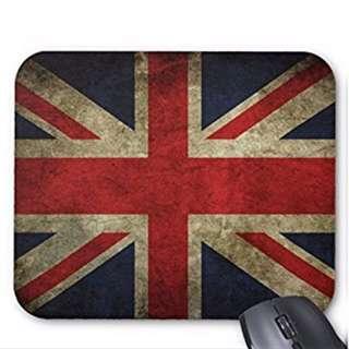 British Union Jack Flag Vintage PC Computer Mouse