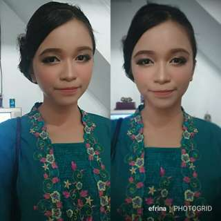 Makeup wisuda party