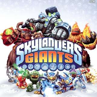 Skylanders Giants - XBOX 360 - Video Game + 9 Different Characters