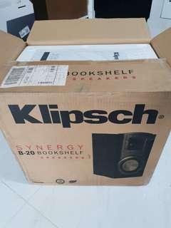 Klipsch B-20 , (like new)