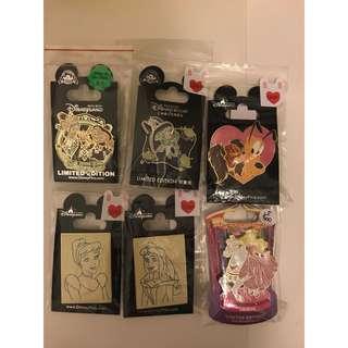 迪士尼襟章 Disney pin* Trade only* 3 photos