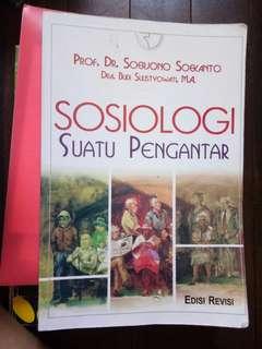 Buku Sosiologi suatu pengantar (kuliah)