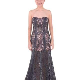 Adesagi Kierana Purple Gown