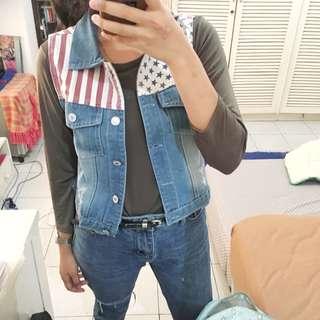 usa outwear vest