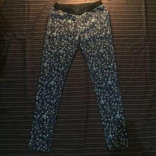 uniqlo flower legging/pants