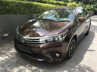 Toyota Altis 1.6 Auto 2016 Model