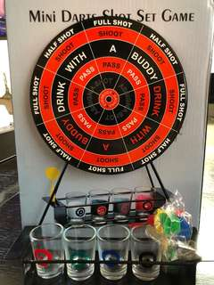 Mini Darts Shot Game Set