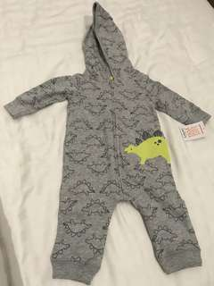 Brand New Just One You by Carter's Baby Winter Hoodie Jumpsuit