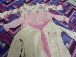 Combo mothercare NB rompers (Girl)