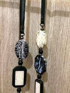Nature Bijoux Semi Precious Stones Necklace 59 Euro amount