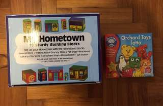 Building Blocks and Game Set