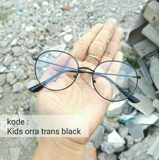 Kids orra trans black (khusus anak-anak)