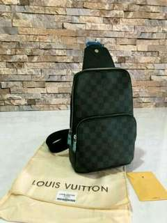 Tas Lv bodybag ORI leather